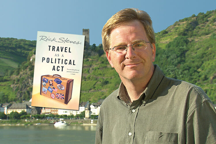 Travel author, public TV and radio host and philanthropist Rick Steves'fall2018 lecture promo
