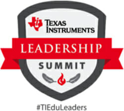 Texas Instruments Leadership Summit logo