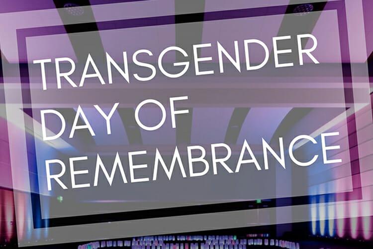 Transgender Remembrance Day 2018 promo