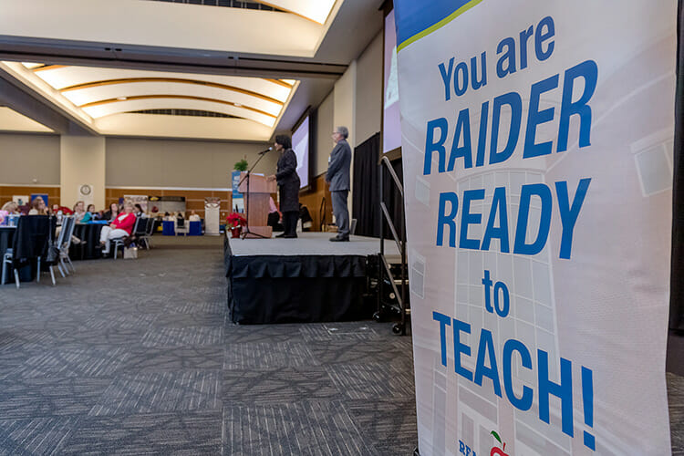 MTSU College of Education hosted its fall Student Teacher Seminar and Recruitment Fair Wednesday, Dec. 12, in the Student Union Ballroom. Employers from across the region and as far as China came to meet with graduating student teachers. (MTSU photo by J. Intintoli)