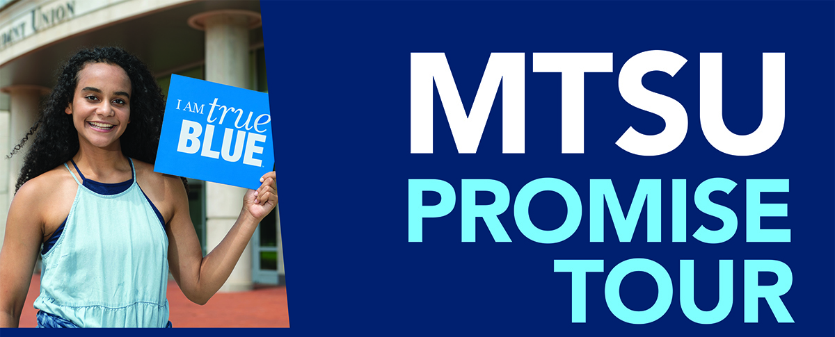 MTSU Promise Tour graphic