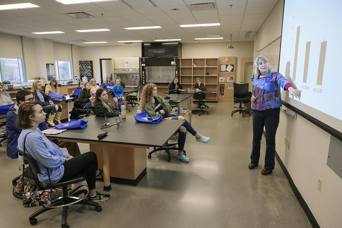 MTSU biology chair Lynn Boyd discusses scientific research MTSU