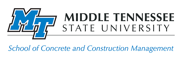 MTSU School of Concrete and Construction Management logo