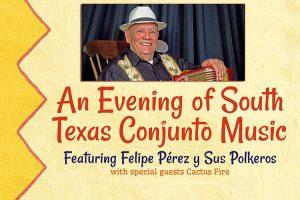 Conjunto music great Pérez brings South Texas tunes to free Feb. 25 MTSU concert