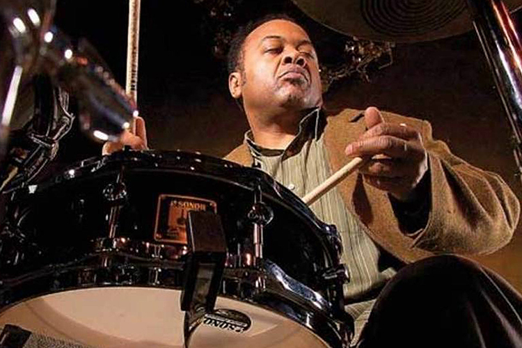 "Six-time Grammy winner Jeff ""Tain"" Watts will teach a jazz drum clinic and perform at 7:30 p.m. Saturday, March 16, with the MTSU Jazz Ensemble I and Faculty Jazztet during the School of Music's annual Illinois Jacquet Jazz Festival. (Photo submitted)"