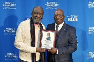 MTSU 2019 Pleas Faculty Award winner: 'MTSU has been good to me'