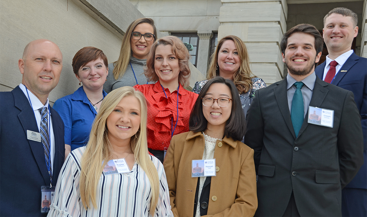 MTSU at 2019 Posters at the Capitol in Nashville, Tenn.