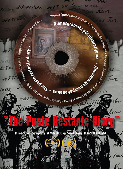 """The Poste Restante Diary"" graphic"