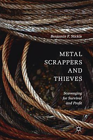 """MTSU professor Benjamin Stickle's 2017 book, """"Metal Scrappers and Thieves: Scavenging for Survival and Profit,"""" features his conversations with people who collect stray sections of metals, both legally and illegally, to learn more about this economic sideline."""