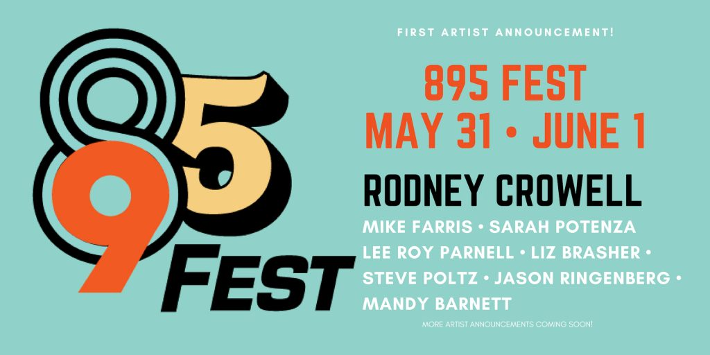 895 Fest 2019-Artist Announcement 1