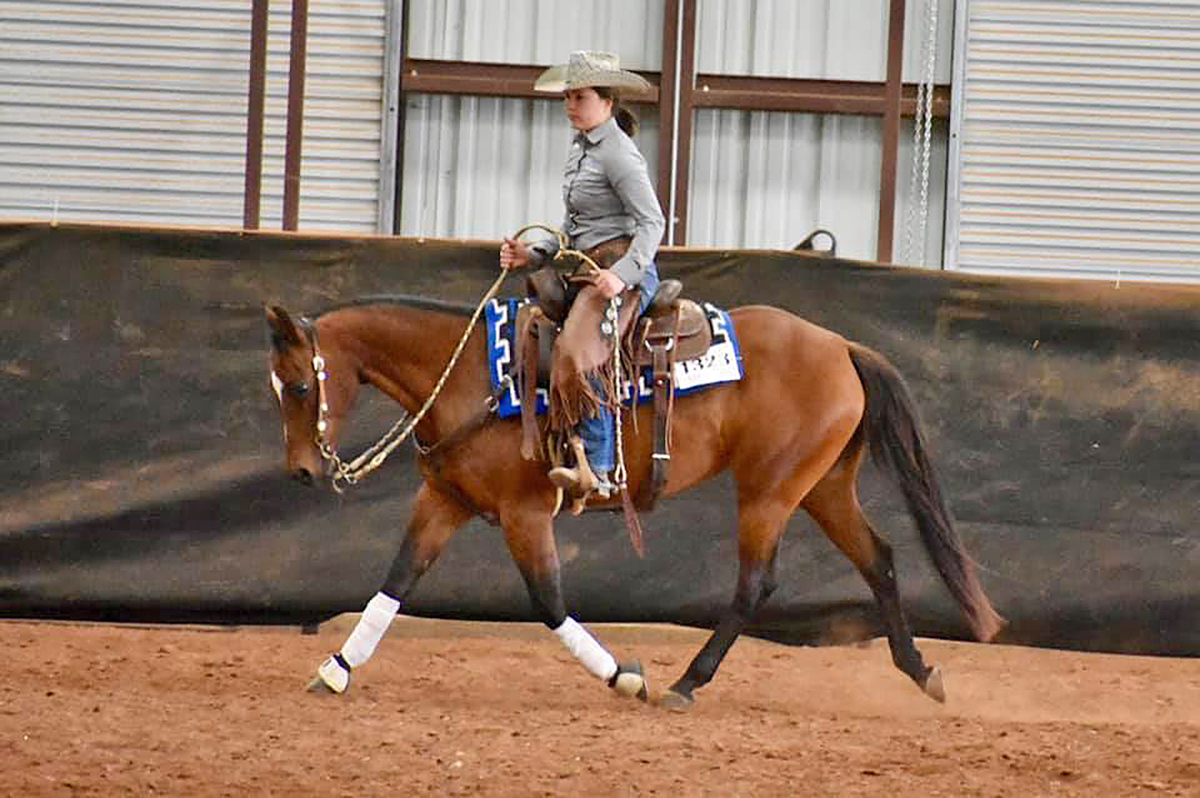 Riding My Favorite Remedy, MTSU freshman Hunter Huddleston of Franklin, Tenn., earned a first-place award in the Youth Champion category.