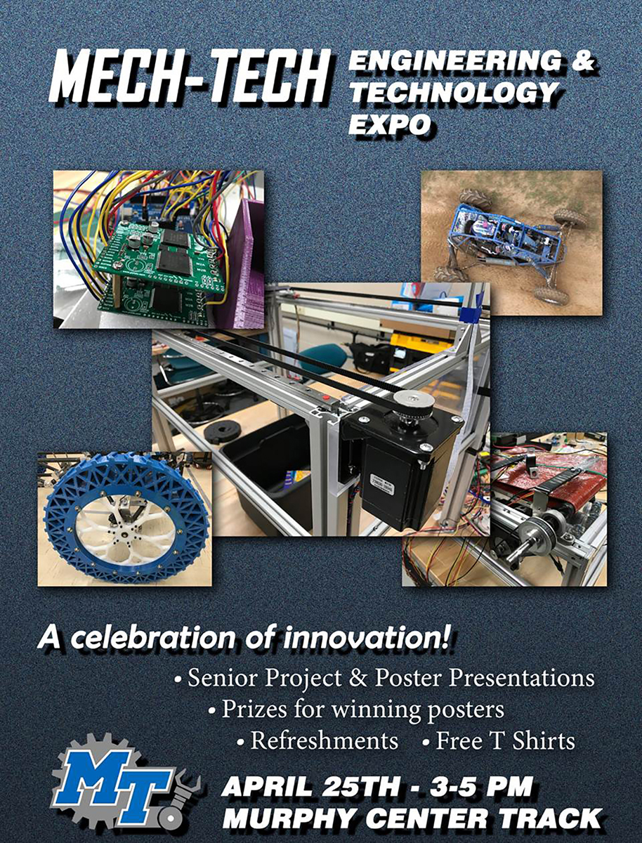 Mech-Tech expo flyer