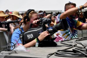 It's a wrap for MTSU multimedia students at Bonnaroo campus