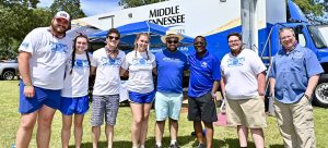 MTSU's second day at Bonnaroo packed with learning opportunities