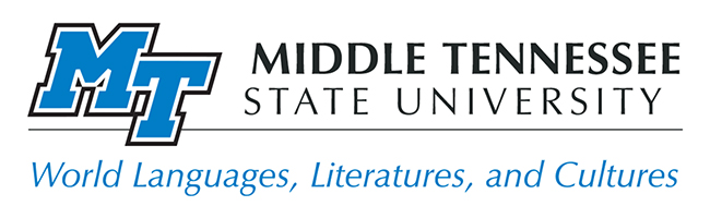 MTSU Departmennt of World Languages, Literatures, and Cultures logo