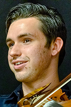 Austin Derryberry of Unionville, Tenn., an August 2019 MTSU audio production graduate and award-winning multi-instrumentalist