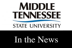 In the News: MTSU faculty discuss COVID-19 impacts, package piracy, advising, more