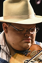 "Multi-instrumentalist Trenton ""Tater"" Caruthers of Cookeville, Tenn."