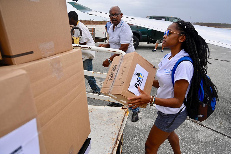 Tiara Ashley Brown, president of MTSU's Bahamian Student Organization,