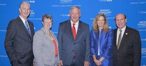 Tenn. Insurance Hall of Fame at MTSU inducts 2019 class of McPeak, Miller, Williams