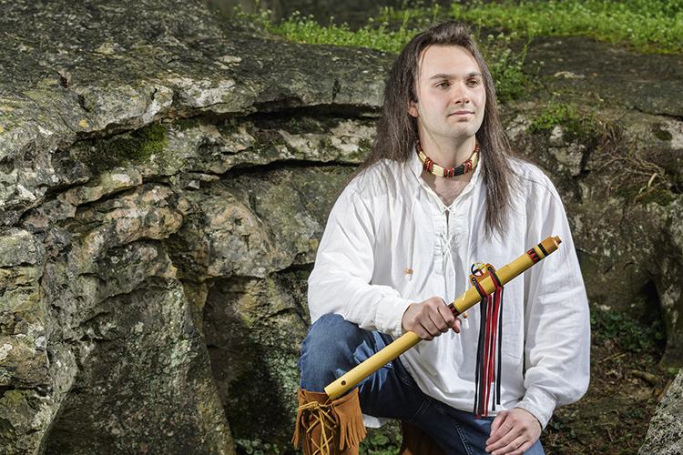 Native American advocate Gareth Laffely