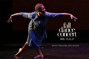 MTSU dancers will warm hearts, help homeless Nov. 21-23 at Fall Dance Concert
