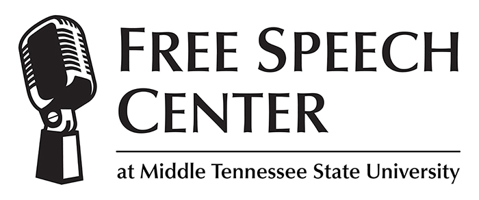 logo for Free Speech Center at Middle Tennessee State University