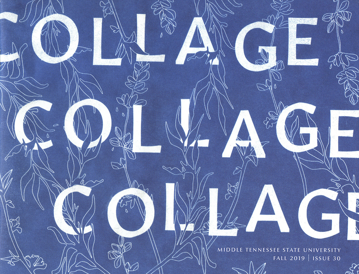 """The front cover for """"Collage's"""" fall 2019 publication."""