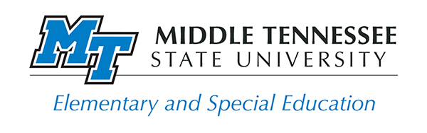 MTSU Department of Elementary and Special Education logo