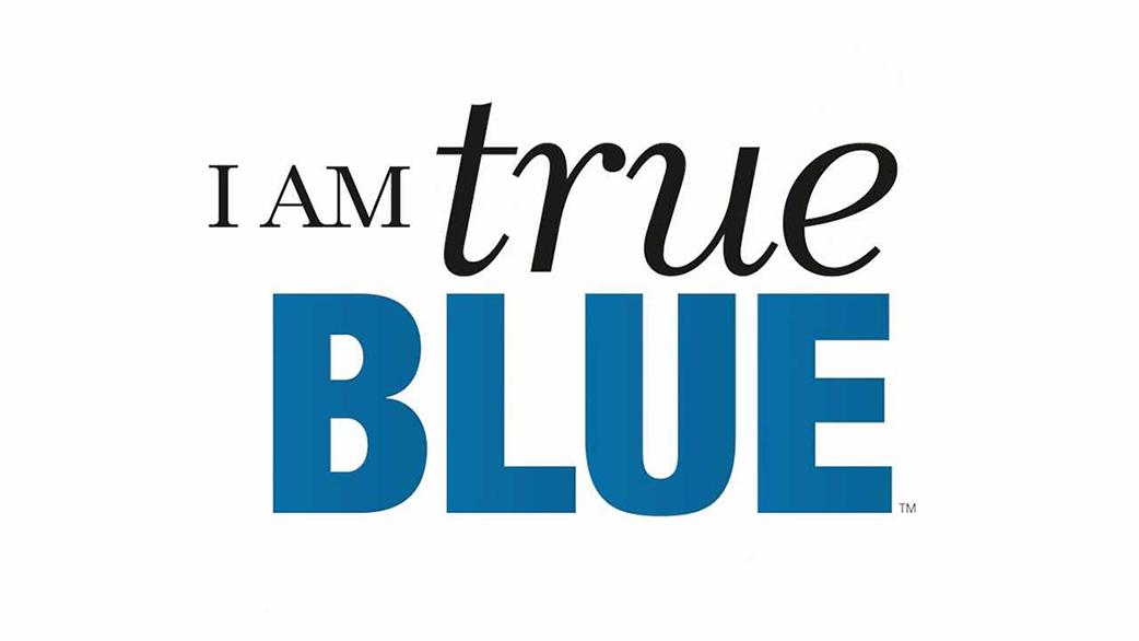 I Am True Blue logo