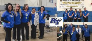 MTSU nursing students staff state hotline with facts about COVID-19
