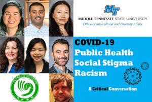 MTSU hosts virtual intercultural discussion on stigma, concerns amid COVID-19 crisis