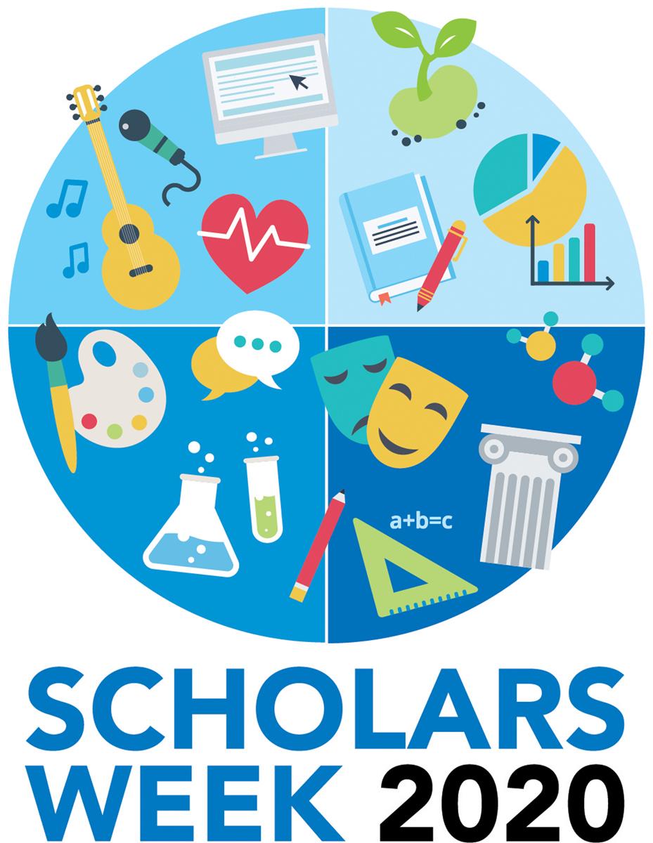 2020 Scholars Week logo