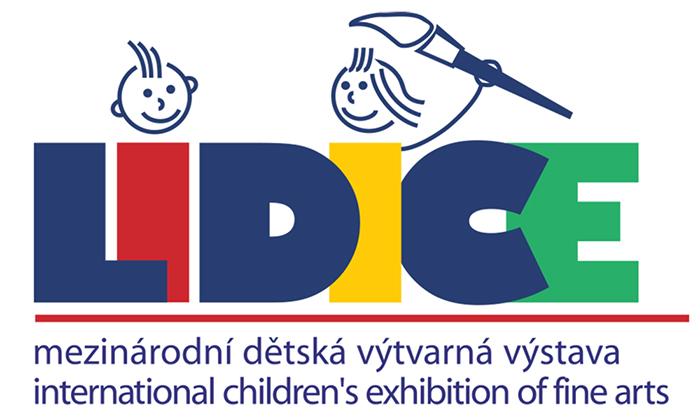 International Children's Exhibition of Fine Arts Lidice logo
