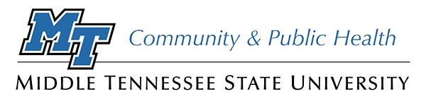 MTSU Community and Public Health Program logo