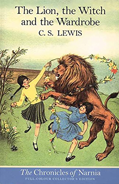"This is a book cover of C.S. Lewis' ""The Lion, the Witch, and the Wardrobe,"" which was published in 1950. (Photo submitted)"