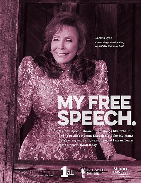 Loretta Lynn 1 For All campaign ad