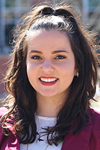 Samantha Eisenberg, student trustee, 2019-20, alumna