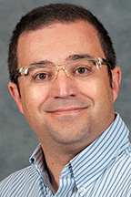 Dr. Henrique Momm, assistant professor, Department of Geosciences