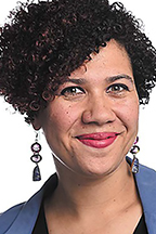 "Dr. Ashley Howard, a professor in the University of Iowa's African American Studies Program and a guest panelist at MTSU's ""Racial Justice Protests and the First Amendment"" virtual discussion Wednesday, Sept. 16."