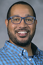 Dr. Keonte Coleman, assistant professor, School of Journalism and Strategic Media, College of Media and Entertainment