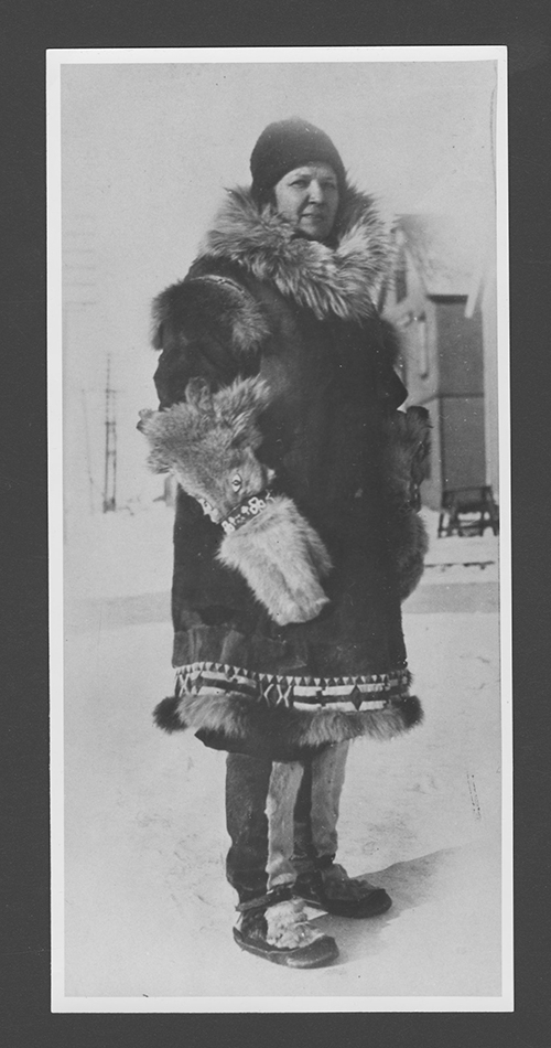 Emily Morgan, the head quarantine nurse during the 1925 diptheria outbreak in Nome, Alaska. (Photo provided)