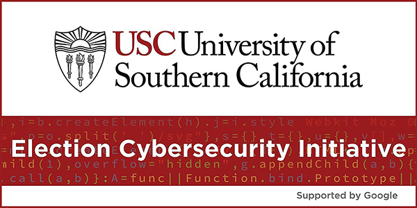 logo for the University of Southern California's Election Security Initiative
