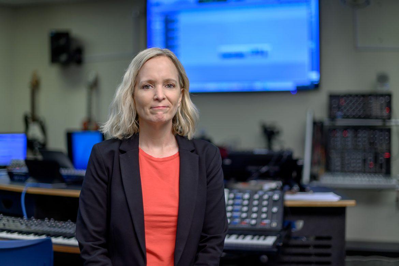 Misty Jones Simpson, Recording Industry faculty profile. (Photo: J. Intintoli)