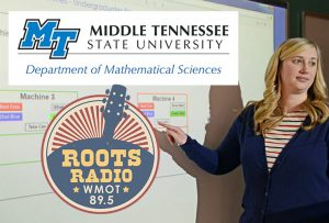 'Vending Machine Math': Listen to the Oct. 13 'MTSU On the Record'