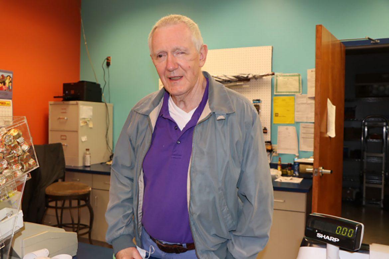 Dwight Johnson opened Dwight's Mini Mart at MTSU more than 25 years ago.