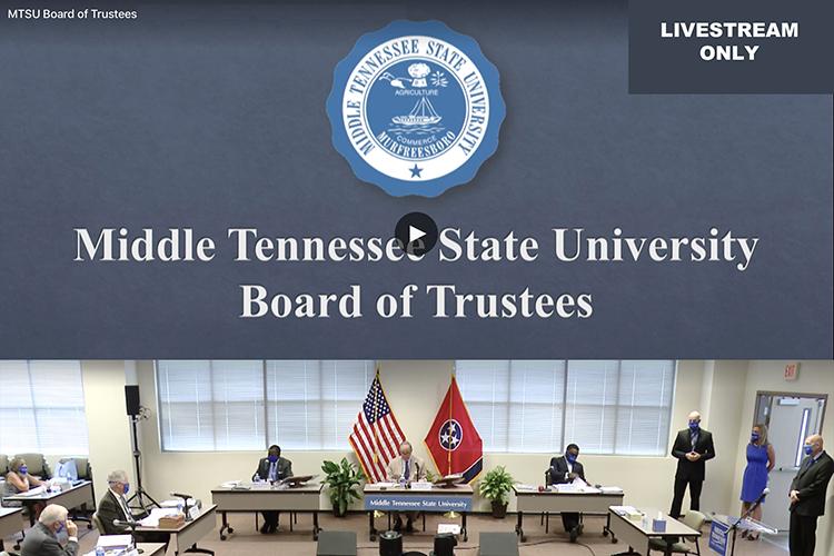 MTSU Board of Trustees livestream graphic-web
