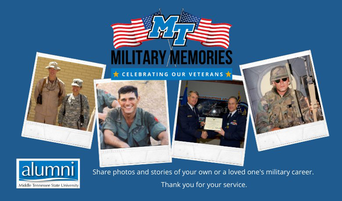 Military Memories graphic