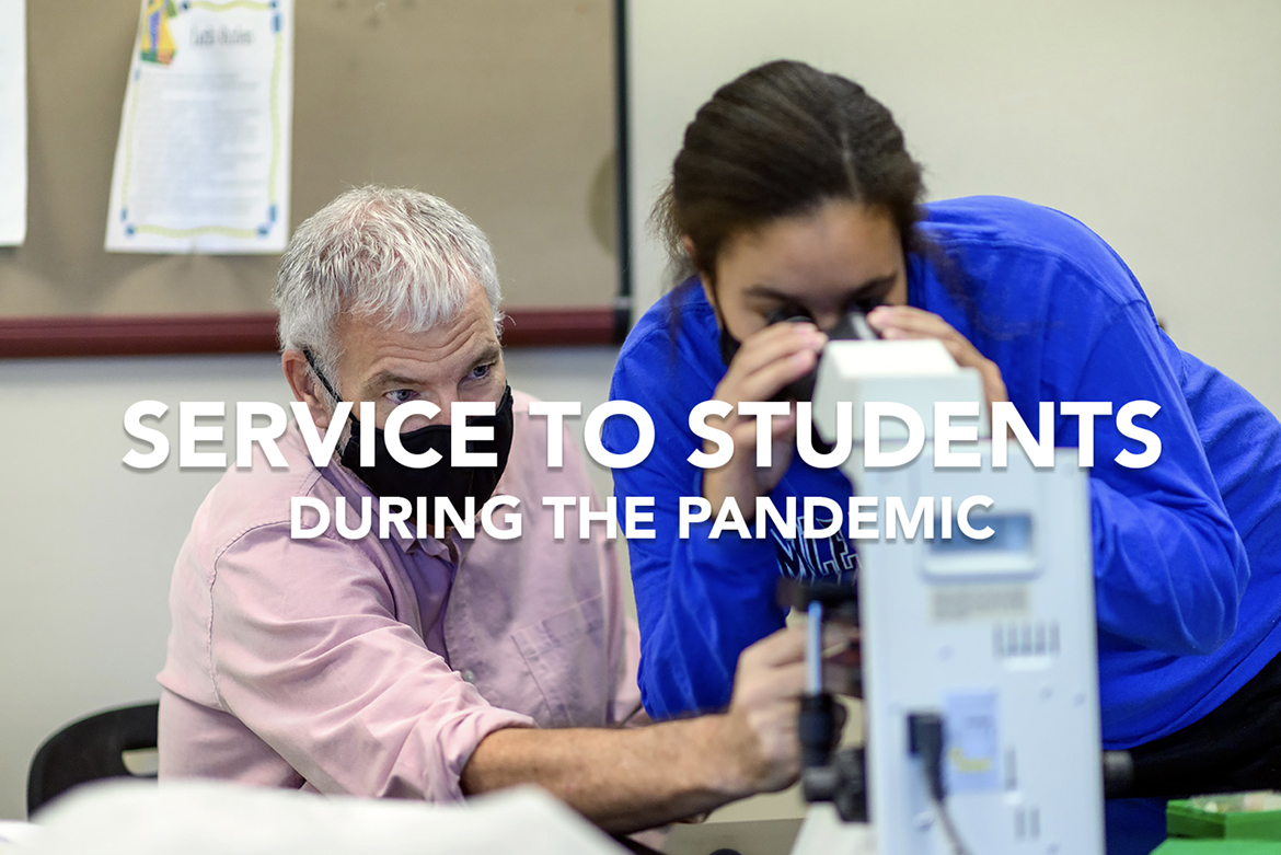 Service to Students graphic