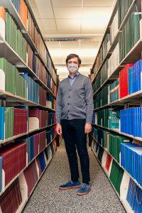 Jason Vance, Information Literacy Librarian, James E. Walker Library. (Photo: Andy Heidt)